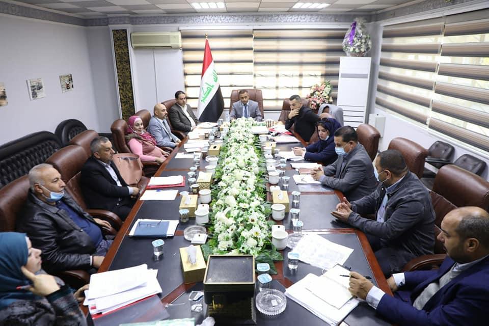 استضافة المدير المفوض السيد مصطفى احمد في مجلس ادارة المسافرين والوفود